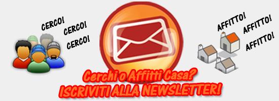 Iscriviti alla newsletter di Roma Affitto